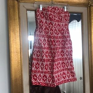 J.Crew strapless dress size 2
